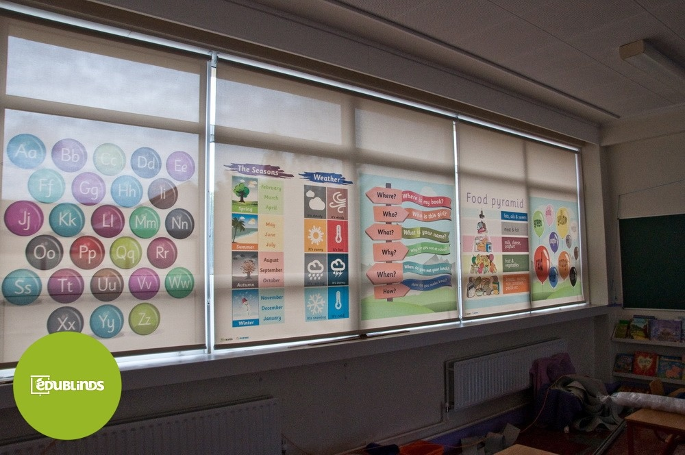 Classroom Design For The Blind ~ Educational blinds for school classrooms