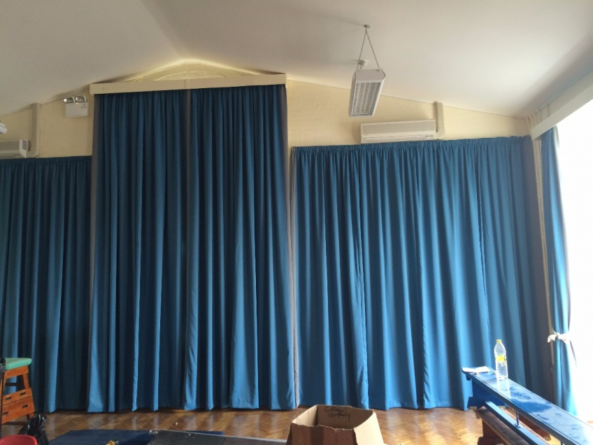 Curtains Gallery 1 - St Stephens Primary school, Sept 2014