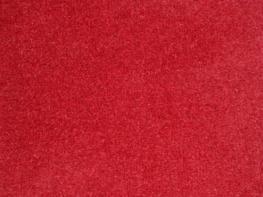 Phoenix Velvet Curtains - Brick Red
