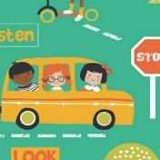 Children's Stop Look and Listen range - Emerald Green
