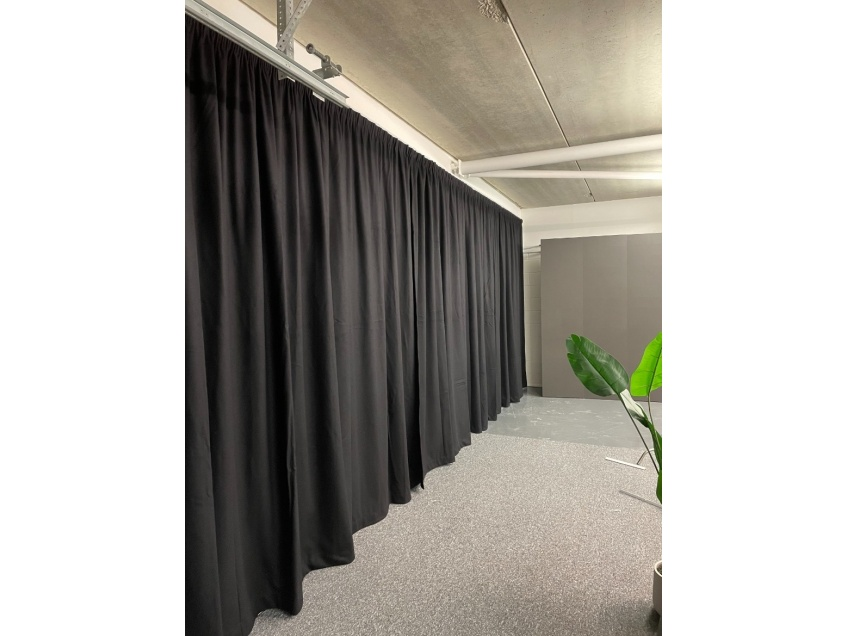 Film Studio Curtains - Swindon - After