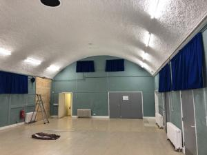 Village Hall Curtains - Wye Valley