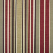 Printed Curtains - Arcadia  Red Gold