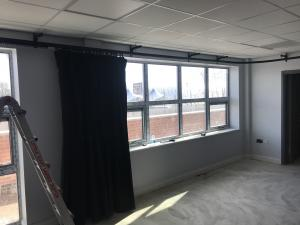 School Curtains & Triple E rails - Bolton