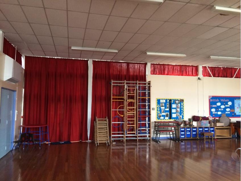 Curtains Gallery 1 - Westfields Primary school, October 2015