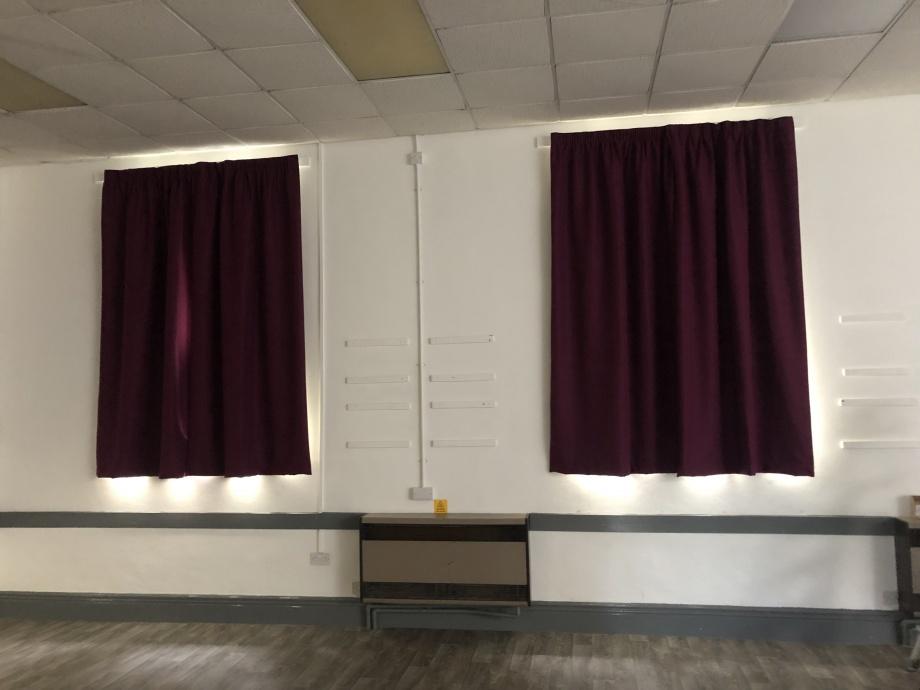 Church Hall Curtains - Sheffield->title 2