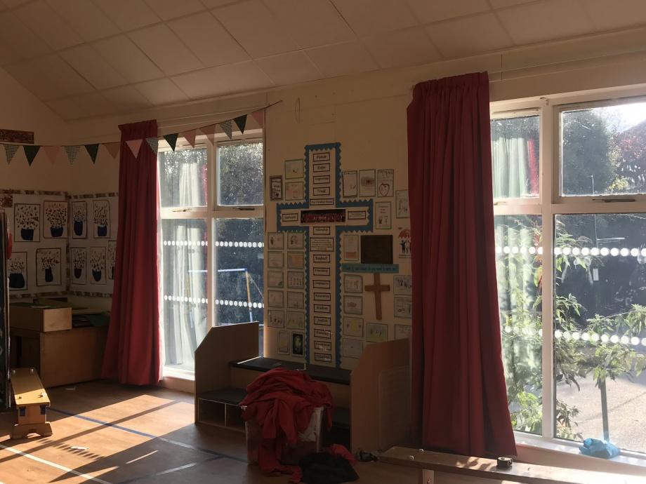 School Hall Curtains - Braintree->title 2