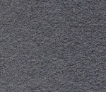 Wool Serge Melton - Dark  Grey