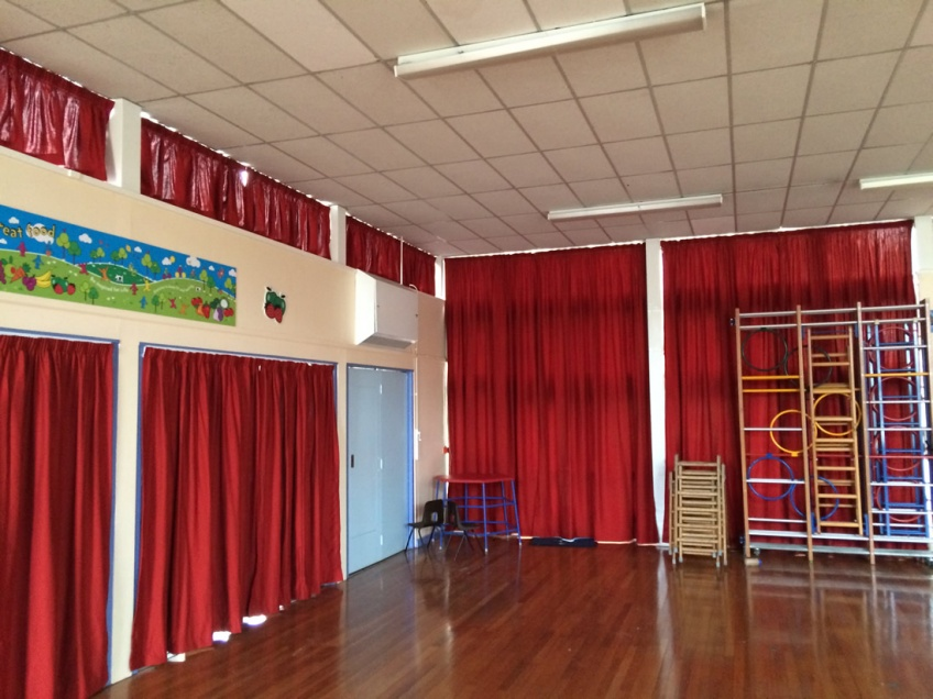 Curtains Gallery 1 - Westfields Primary school, October 2015
