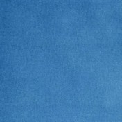 Phoenix Velvet curtains - Mid Blue