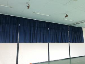 School Hall & Gym Curtains - Amersham