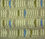 Printed Curtains - Salsa  Flax