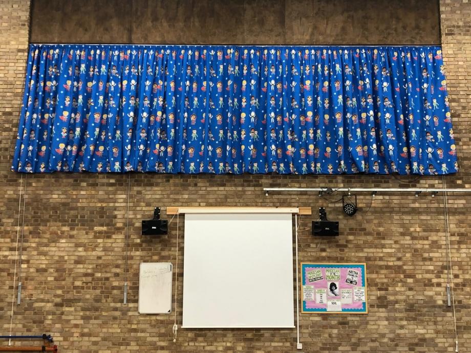 Primary School Hall Curtains - Milton Keynes->title 1