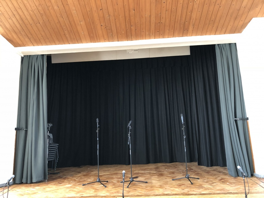 Hall & Stage Curtains - Coventry->title 1