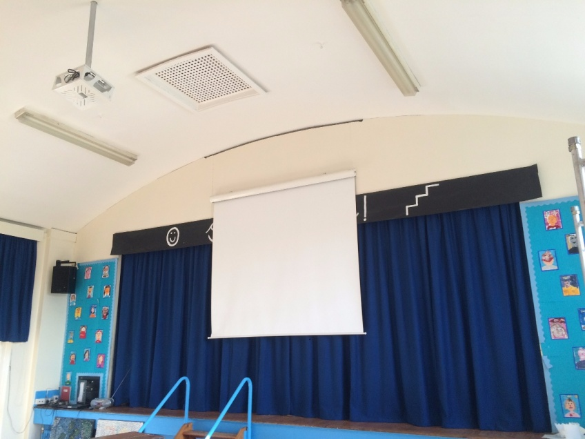 Stage Curtains 2 - Willow Tree Primary school, Harrogate
