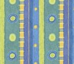 Printed Curtains - Illusion Aqua
