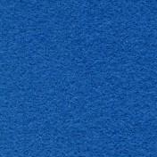 Wool Serge Melton - Mid Blue