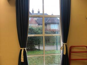 Primary School Hall Curtains - Dorking