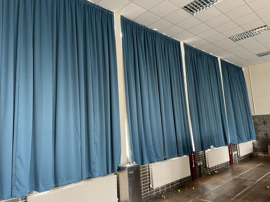 School Hall & Stage Curtains - Birmingham->title 5