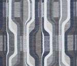 Printed Curtains - Balance Petrol
