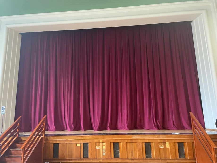 Town Hall Stage Curtains - Lambeth->title 1