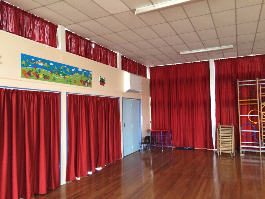 Curtains Gallery 3 - Westfields Primary school, Yateley, October 2015