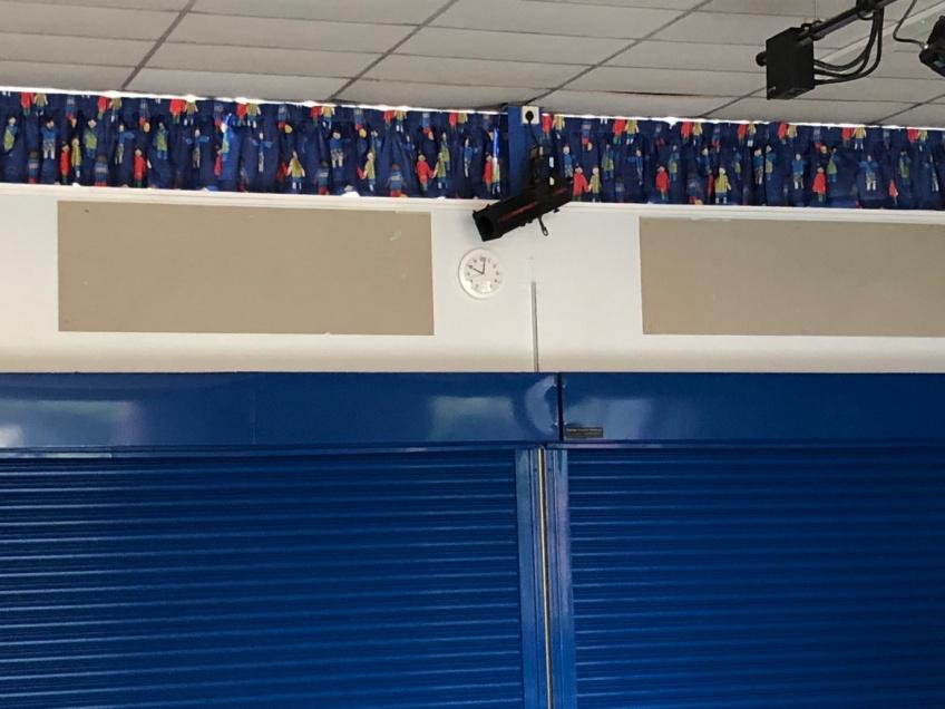 School Hall Curtains - Leicester -