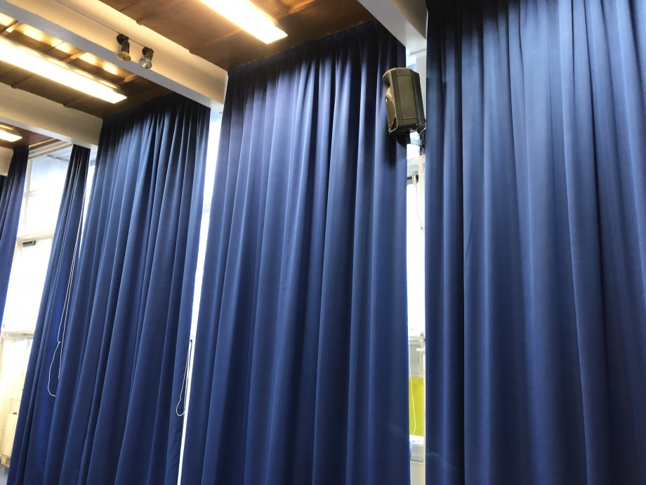 Primary School Hall Curtains - London->title 3