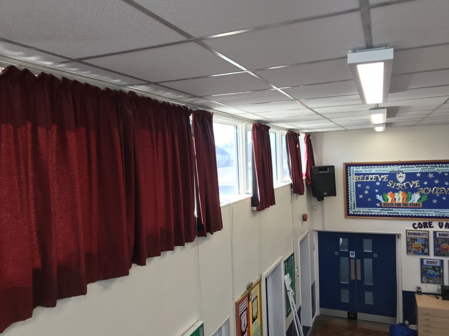 Junior School Hall Curtains - Hampshire->title 2