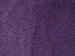 Phoenix Velvet Curtains - Aubergine