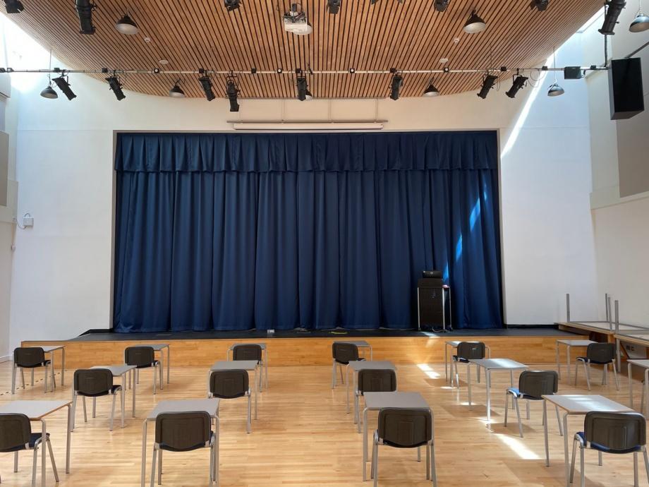 School Stage Curtains - Bristol->title 1