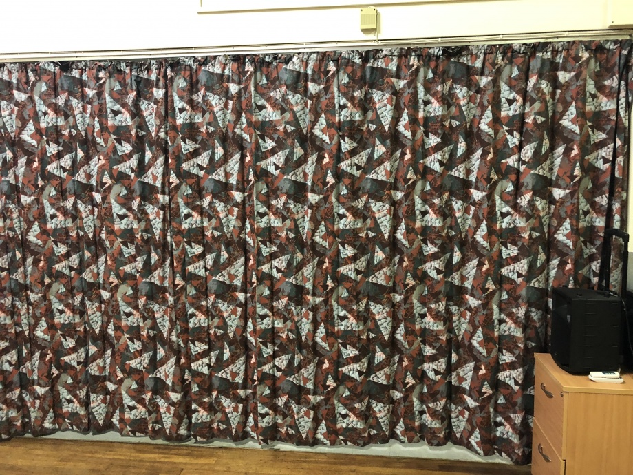 School Hall Curtains - Kent->title 2
