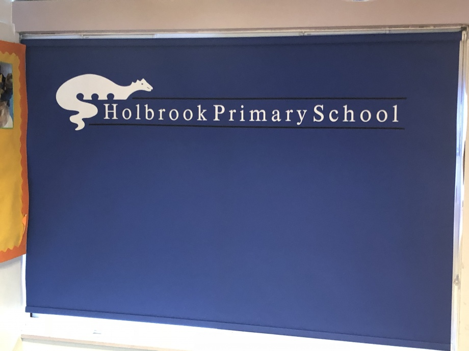 School Logo Printed Roller Blinds - Trowbridge->title 1