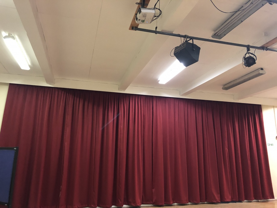 School Hall Curtains - Kent->title 1