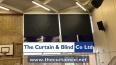 Motorised School Hall Blinds - Slough