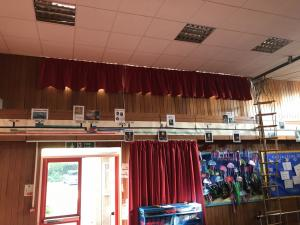 Primary School Hall Curtains - Swadlincote