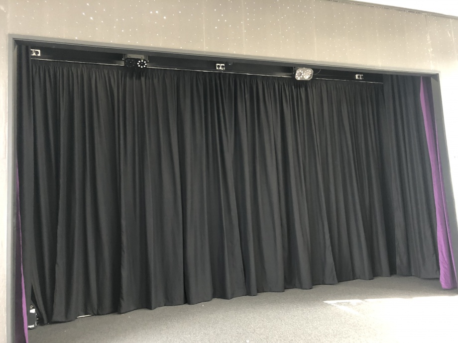 Primary School Stage Curtains - Leeds->title 2