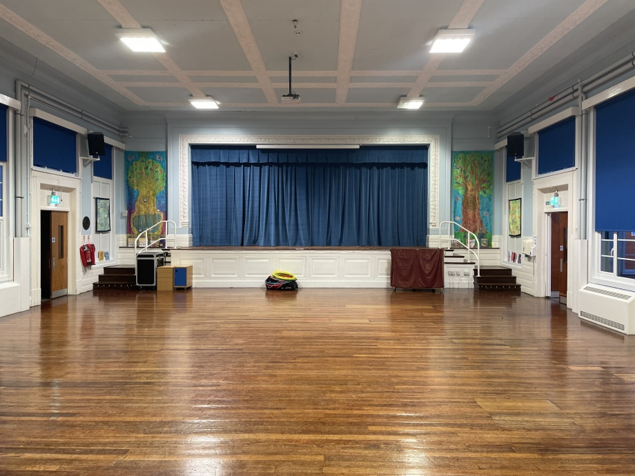 Primary School Stage Curtains - Nottingham->title 1