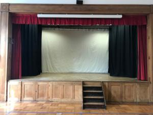 School Hall & Stage Curtains - Hampstead