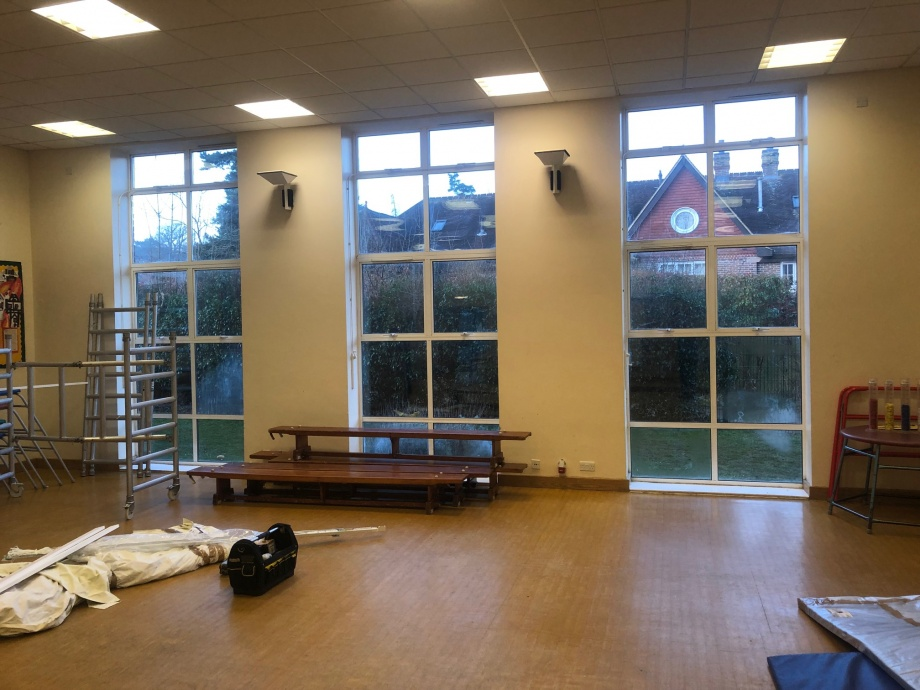 Primary School Hall Curtains - Dorking->title 2