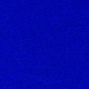 Wool Serge Melton - Chromakey Blue