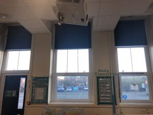 Junior School Hall Blinds -Sunderland