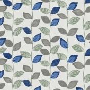 Printed Curtains - Zenith Cobalt