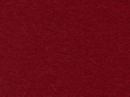 Wool Serge Melton - Burgundy