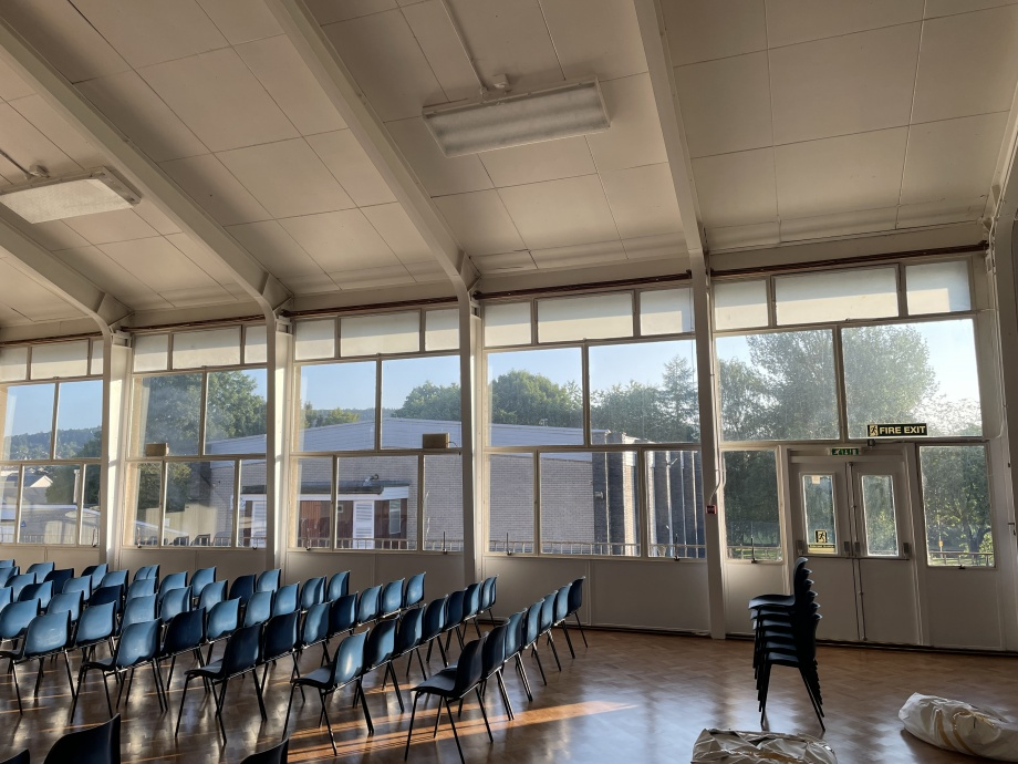 School Hall Blackout Curtains - Ullswater->title 2