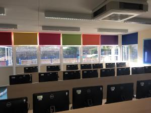 Computing Suite Blinds - Waltham Cross