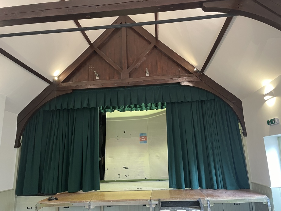 Hall Stage Curtains - Chipping Norton->title 2