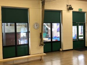 School Hall Blinds - High Wycombe