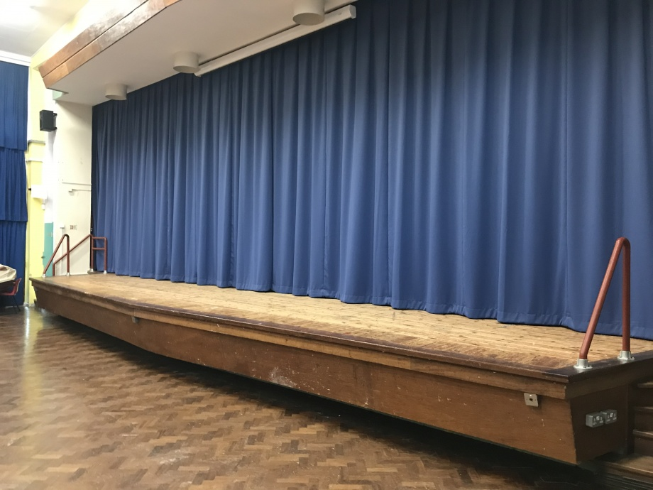 School Stage Curtains - Tenby->title 2