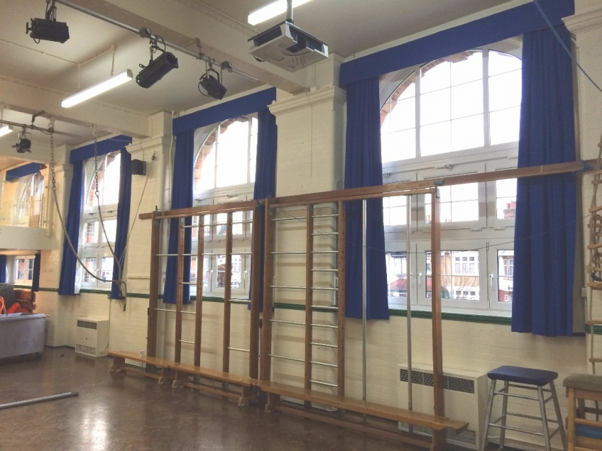 Curtains Gallery 1 - Highlands Primary school, Ilford, January 2016
